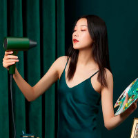 Фен для волос Xiaomi Showsee Hair Dryer A5 Зеленый