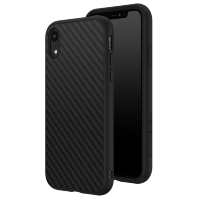 Чехол RhinoShield SolidSuit для iPhone XR Чёрный карбон